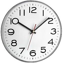 TFA 60.3017 Orologio da parete colore: Bianco, plastica