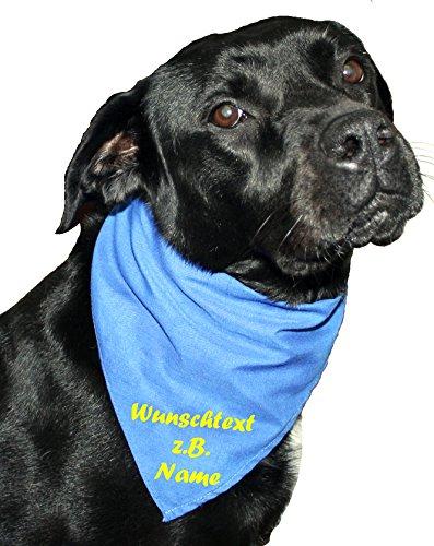 Halstuch Maxi für größere Hunde (Haustire) bedruckt
