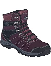 Trespass - Botas de montaña / Caminar de piel Modelo Noble Mujer Señora - Walking/Trekking/Hiking