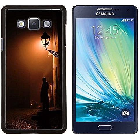 Stuss Case / Funda Carcasa protectora - Lámpara de luz Calle del guijarro - Samsung Galaxy A7