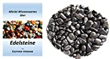 Edelsteine, polierte Trommelsteine, Hämatit klein (ca. 1,5 cm), 500 g-Beutel