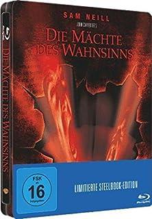 DIE MÄCHTE DES WAHNSINNS (Blu-ray Disc) Steelbook