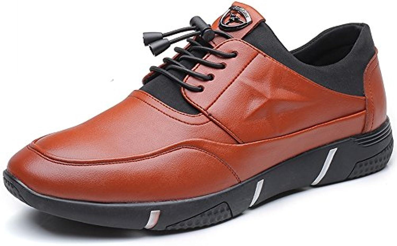 Yajie-shoes, 2018 Mocasines Zapatos para Hombre Zapatos de Cuero de Microfibra de los Hombres talón Plano con...