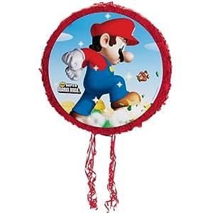 "Party Destination Super Mario Bros. 18"" Pull-String Pinata"