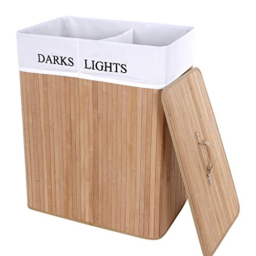 songmics-xxl-100-l-bamboo-laundry-basket-box-storage-box-with-2-sections-for-lights-darks-clothes-lc