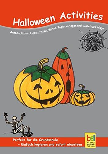 : Arbeitsblätter, Lieder, Reime, Spiele, Kopiervorlagen und Bastelvorschläge für den Unterricht (Halloween-lernen Online-spiele)