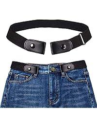 95dbd248c8e Amazon.fr   ceinture cuir sans boucle - Ceintures   Accessoires ...