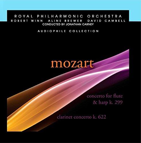 Mozart: Konzert für Flöte und Harfe in C Major, Klarinette, Concerto in a major