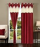Elegance Polyester Door Curtain Set Of 3...