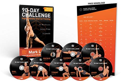 Bodyweight Workout DVD | MARK LAUREN'S FIT OHNE GERÄTE | 90-Day Bodyweight Challenge | (English)