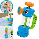 Gusspower Baby Badespielzeug, Kinder Bad Dusche Schwimmbad Wasser Spielzeug Ente Design Wasserpumpe Spiel Geschenke Großes Baby Badewannenspielzeug
