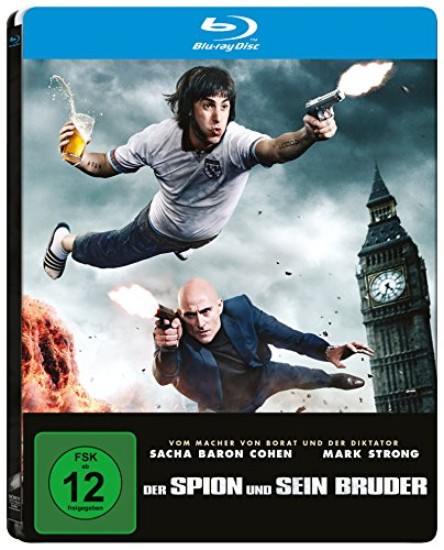 Der Spion und sein Bruder (Steelbook) [Blu-ray] [Limited Edition]