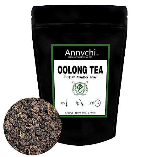 Oolong Tea Chinese Fujian Tea Leaves (80 Cups) - Oolong Loose Tea for Weight Loss - Tie Guan Yin Oolong Tea Caffeine Medium - 170 Gram (6 Ounce)