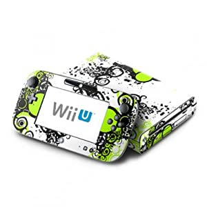 DecalGirl Nintendo Wii U Skin Design Aufkleber Sticker Set – Simply Green