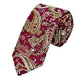 Dorical Herren Krawatte Drucken in Verschiedenen Farben/zum Anzug oder Smoking/für Alle Männer das Perfekte Geschenk In Party Hochzeit Valentinstag Vatertag Weihnachten
