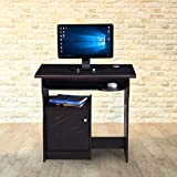 #4: Royal Oak Amber Small Computer Table (Black)