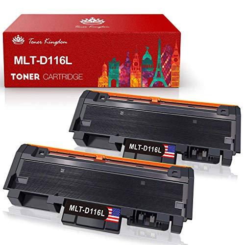 Toner Kingdom MLT-D116L MLT-D116S Compatibile per Cartuccia Toner Samsung Xpress M2675F M2675FN M2675 M2835 M2835DW M2825 M2825ND M2625 M2625D M2875 M2875FD M2885FW M2876 M2826 M2676 M2626