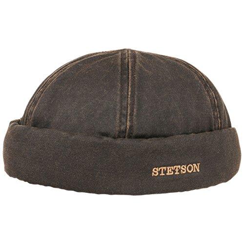 berretto-docker-old-cotton-stetson-l-58-59-marrone
