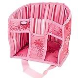 Götz 3402829 Puppen Schlittensitz Wilde Fahrt - Puppensitz für den Schlitten für Puppen von 30 - 50 cm mit Klettverschluss - für Kinder ab 3 Jahren
