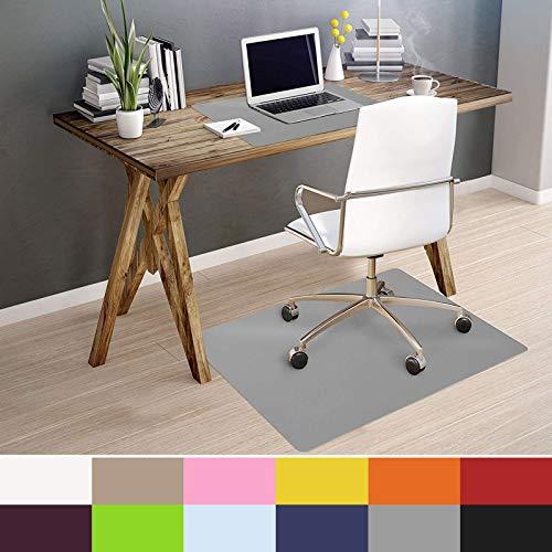 OfficeMarshal Alfombra de Color para Silla - Alfombrilla Protectora Suelo | Alfombra...