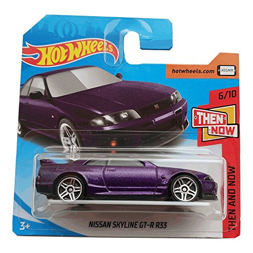 Hot Wheels Nissan Skyline GT-R R33 - Then And Now - 2018 193/365