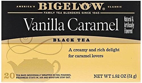 Bigelow Vanilla Caramel Black Tea (20 Teabags)