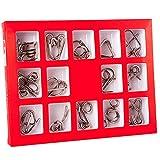 Holzsammlung Rompecabezas Metal, 15 Piezas 3D Puzzles Educativos...