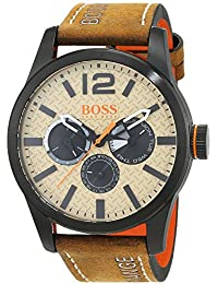 Hugo Boss Orange 1513237 Paris - Reloj de pulsera analógico para hombre
