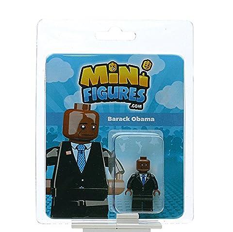 Custom Design Minifigure - President Barack Obama