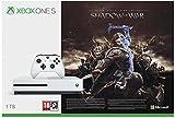 Konsole Xbox One S 1TB white + Mittelerde: Schatten des Krieges