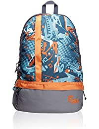 F Gear Burner P3 19 Ltrs Orange Casual Backpack (1962)