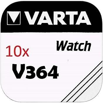4 x Varta V315 Uhrenbatterien 1,55 V SR716SW SR67 20mAh Batterie