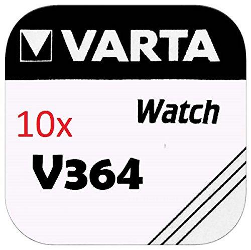 Varta KNOPFZELLEN 364 SR621SW (10 Stück, V364)