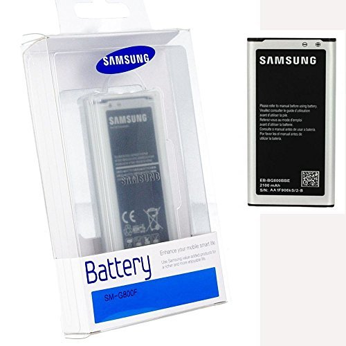 Bateria Original Blister Samsung Galaxy S5 Mini G800 EB-BG800BBECWW