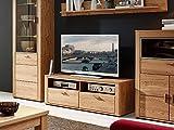 moebel-eins Orion TV-Unterteil Wildeiche teilmassiv, 130 cm
