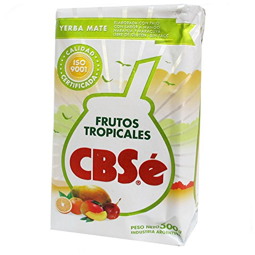 Yerba mate CbSe Frutos Tropicales 500g