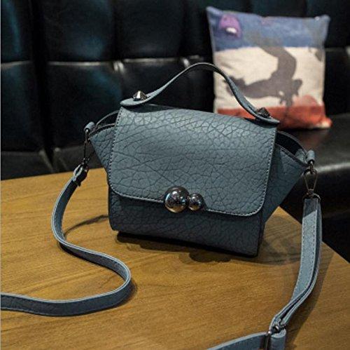 X&L Women's Mode Handtasche Messenger Bag Umhängetasche blue new recommendation