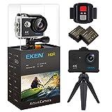 EKEN H9R 4K Actionkamera wasserdichte 170 Weitwinkelobjektiv Sportcamera Full UHD Wifi...