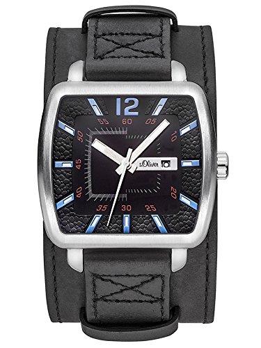 s.Oliver Herren-Armbanduhr SO-3047-LQ