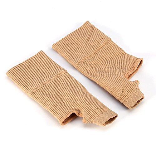 Muñequeras de Pulgar con Compresión de Gel de Silicio para Aliviar Lesiones, dolencias musculares y artritis Guantes para Terapia de muñecas