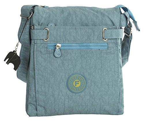 Big Handbag Shop - Borsa a tracolla donna (Foglia di tè)