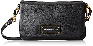 Marc jacobs by marc too hot handle to flap percy cross body noir