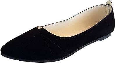 Scarpe - Ballerine da Donna - Classica - Finto camoscio - Colore Nero - PX - 001