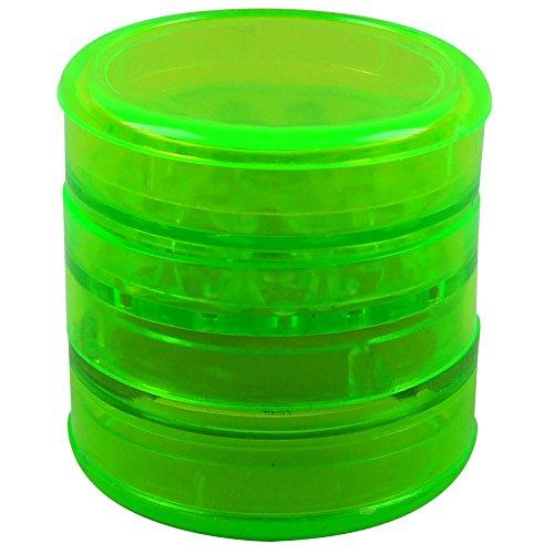 Acryl-Grinder, 4-teilig, Ø ca. 60mm, grün - Grinder Acryl