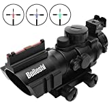 Best Airsoft Scopes - Beileshi Optics 4x32 Red/Green/Blue Triple Illuminated Rapid Range Review