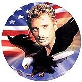 Stickers rétro réfléchissant pour Casque Johnny Hallyday