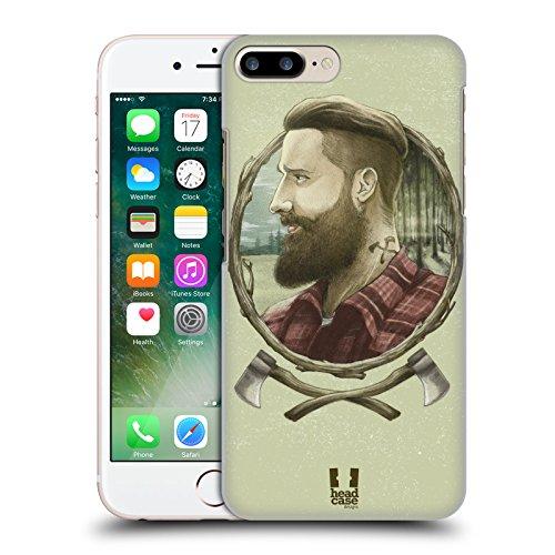 Head Case Designs Seemann Männliche Hipsters Ruckseite Hülle für Apple iPhone 6 / 6s Holzhacker
