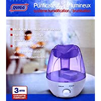 Purificatore d' aria luminoso & # x2022; Sistema umidificazione & # x2022; nebulizzatore & # x2022; Vaporizzazione & # x2022; 1.3L di ugelli di nebbia & # x2022; macchina per aromaterapia & # x2022; ultra-silenzioso & # x2022; Lucine Notturne LED & # x2022; cassetto Oli Essenziali