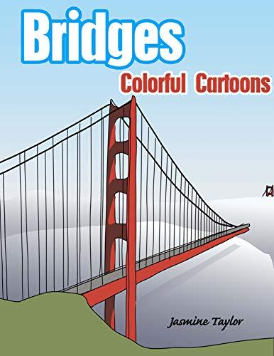 Bridges Colorful Cartoon Illustrations (English Edition)