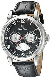 Lucien Piccard Mens LP-15051-01 Analog Display Quartz Black Watch